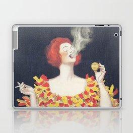 Vintage Poster Cachou Lajaunie Laptop & iPad Skin
