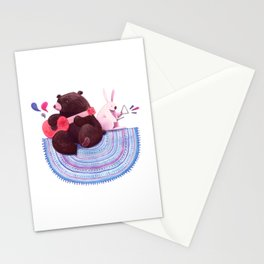Bear & Bunny Stationery Cards