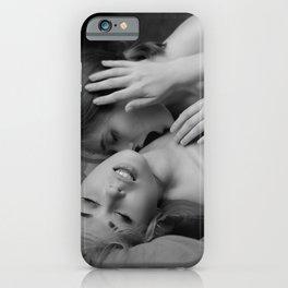 Lesbian Sex Scene iPhone Case