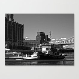 Old Port Montreal Canvas Print