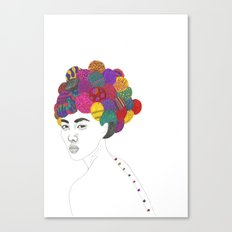 Fashion Illustration 3  Canvas Print