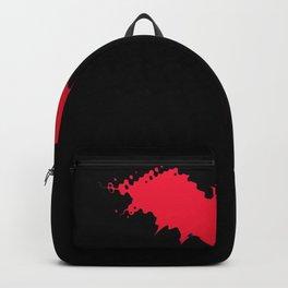 Halloween bat silhouette bats vampire Backpack