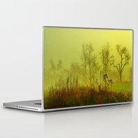 fairies Laptop & iPad Skins featuring Fairies Nebula by Stephanie Koehl