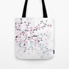 Pastel Cherry Blossom Tote Bag