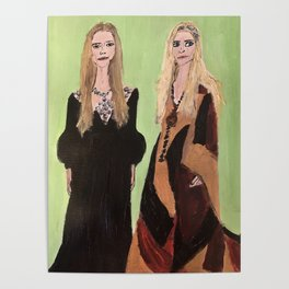 MaryKate and Ashley at Met Gala Poster
