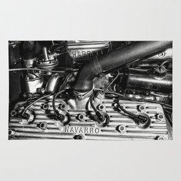 Navarro Flathead Ford Engine Rug