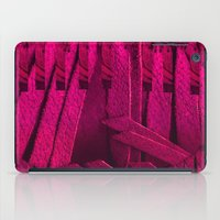 leather iPad Cases featuring Leather pattern by Pepita Selles