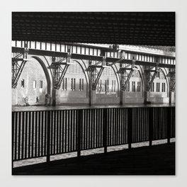 Jannowitzbruecke - Berlin - B&W Canvas Print