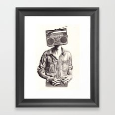 Radio-Head Framed Art Print