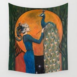 Origin of Inspiration Wall Tapestry
