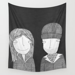 Joel & Clementine Wall Tapestry