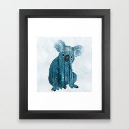 Australian Misty Forest Koala Bear Framed Art Print