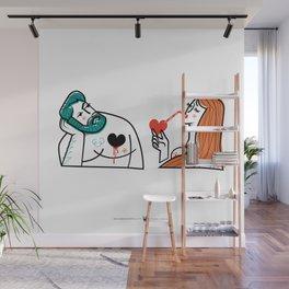 Bitter Sweet Love - Man & Woman Wall Mural