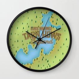 Tarn Hows, Lake District National Park, England Wall Clock