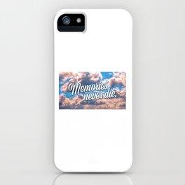 Memories never die iPhone Case