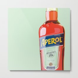 Aperol Spritz Season Metal Print