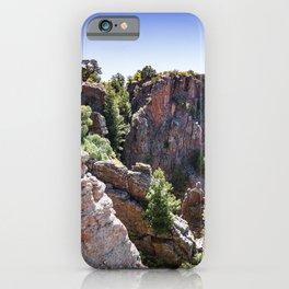 Black Canyon Colorado iPhone Case