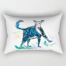 Little dog illustration Rectangular Pillow