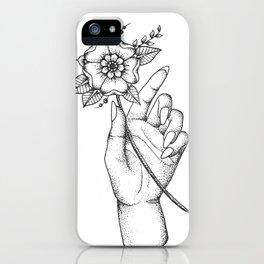 Jaqueline.  iPhone Case