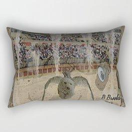 The Arena Race Rectangular Pillow