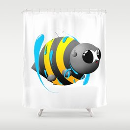 Water magic Shower Curtain