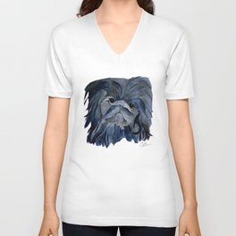Pekingese Dog love... Unisex V-Neck
