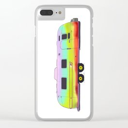 Vintage Airstream Clear iPhone Case