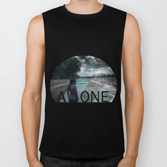 Alone Biker Tank