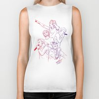 cyrilliart Biker Tanks featuring OTRA by Cyrilliart