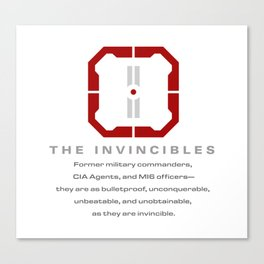 The Invincibles Canvas Print