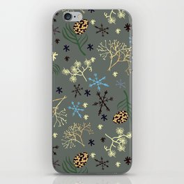Winterpattern3 iPhone Skin