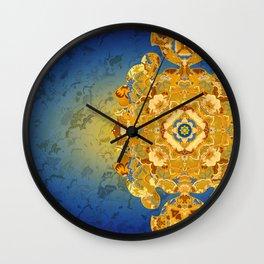 Batik 02 Wall Clock