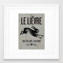 Le Lievre Framed Art Print