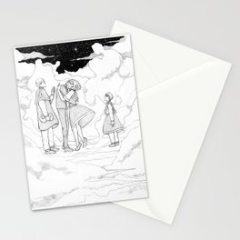 High above the clouds Stationery Cards