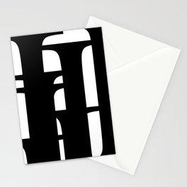 Hidden Letters. Baskerville I Stationery Cards