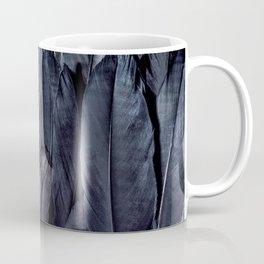 Mystic Black Feather Close Up Coffee Mug