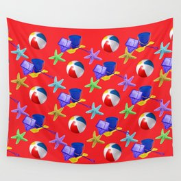 Rock Pooling Wall Tapestry