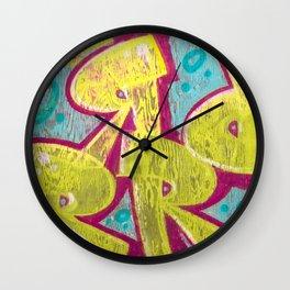 Graffiti 05 Wall Clock