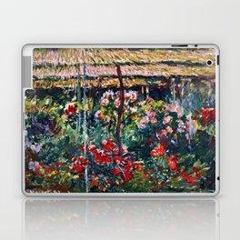 Claude Monet - Peony Garden Laptop & iPad Skin