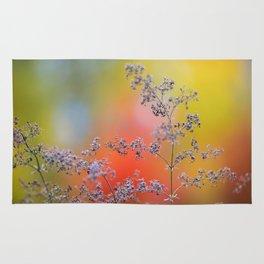 Flowers in autumn Rug
