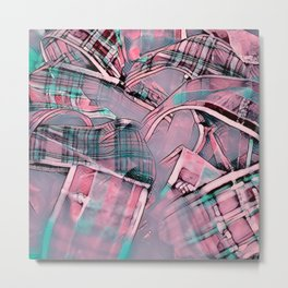 Another modern moment,pink Metal Print