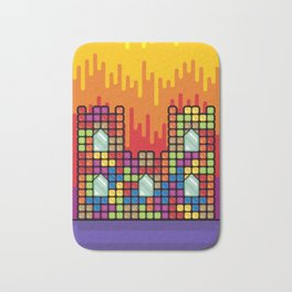 Castle paint Bath Mat