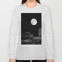 Alien Moon Long Sleeve T-shirt