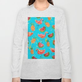 Flamingo Tropical Long Sleeve T-shirt