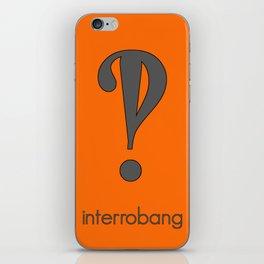 Interrobang, Serif iPhone Skin