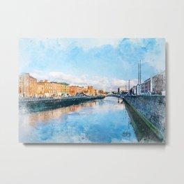 Dublin art #dublin Metal Print