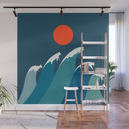 Cat Landscape 15 Wall Mural