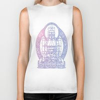 sacred geometry Biker Tanks featuring Sacred Geometry 2 by Hazel Bellhop