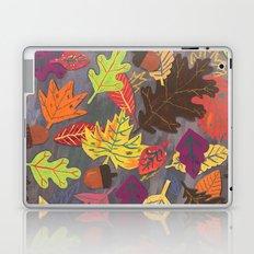 Autumn Leaves Pattern Laptop & iPad Skin