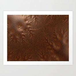 Burnished  Copper Art Print